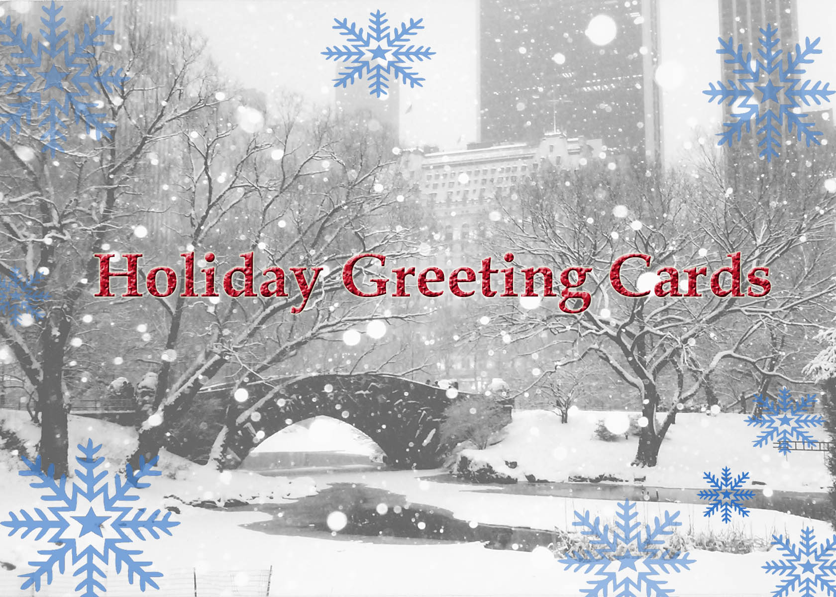 Holiday Greeting Cards Photo Mission Studios